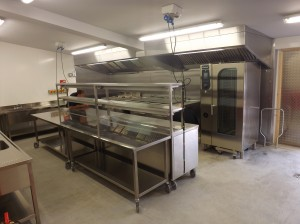Ladywood House - kitchen nearly finished