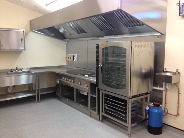 Church kitchen complete