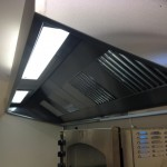 Extraction system in church kitchen