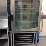 Church 10 grid combi oven