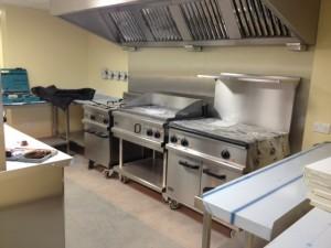 Leicester Racecourse Kitchen INstall