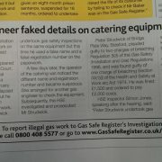Faked details article