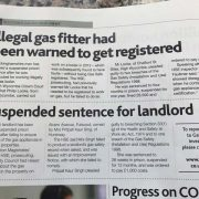 prosecutions for unsafe gas installations